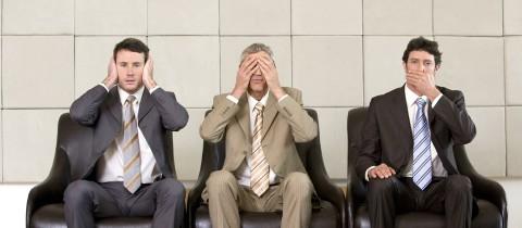 Three businessmen hear, see speak no evil_960x420